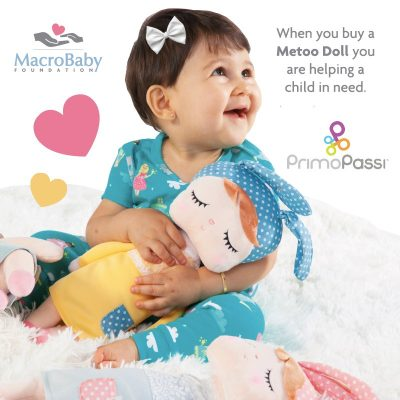 Buy a Metoo doll and help MacroBaby Foundation